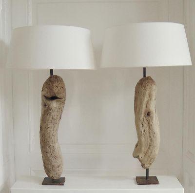 Treibholzlampen Und Objekte Elke Paus Holzlampe Treibholz Lampe
