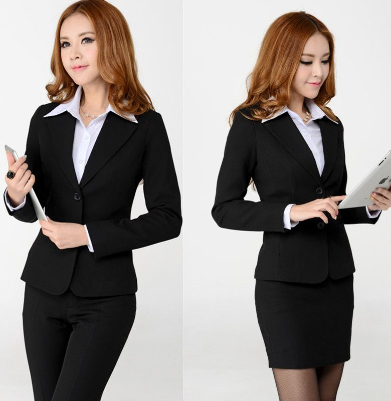 Taobao autumn wear students suit the ladies professional women set ...