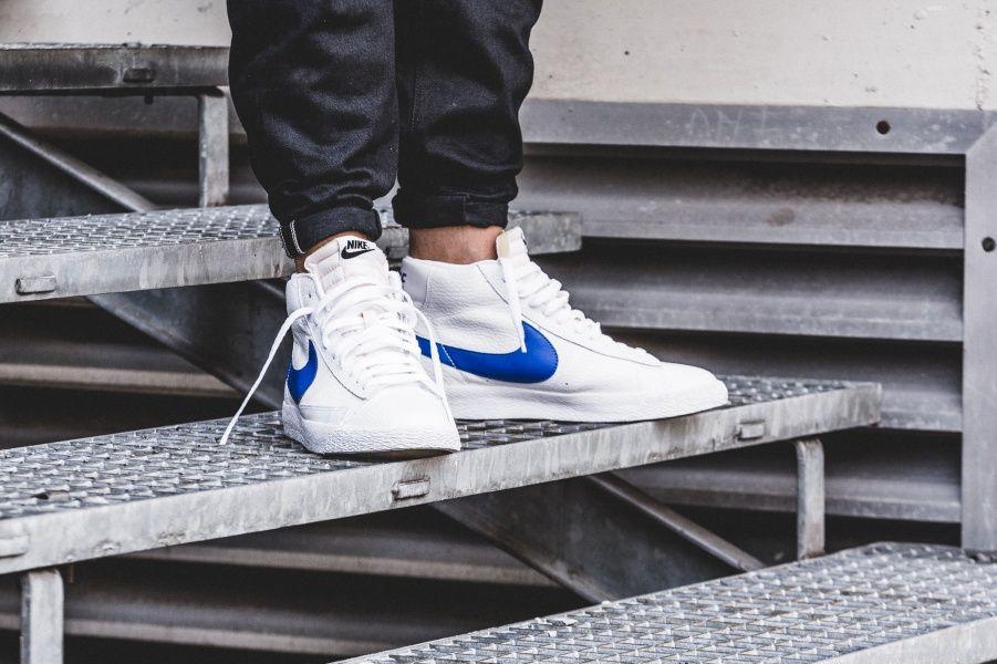 Nike Blazer Mid Retro (weiß blau) 845054 100 | Nike