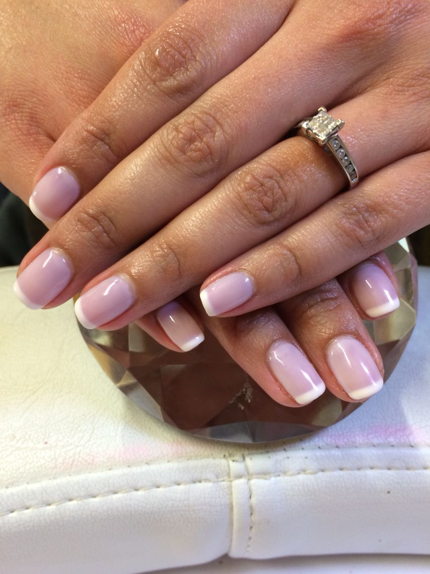 Jessica GELeration French manicure - want these to be my wedding ...