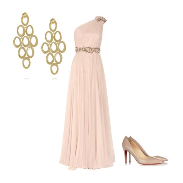 Gorgeous red-carpet outfit from one of our beta users