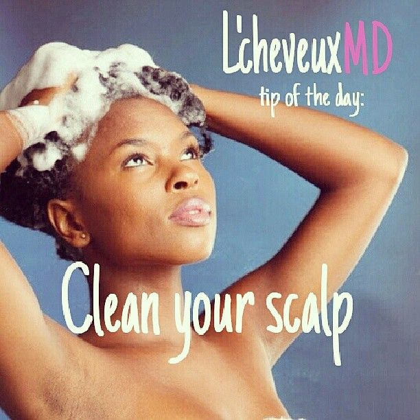 A clean scalp is an important factor in achieving your maximum hair growth potential. A dirty scalp is more prone to fungal and bacterial infections that may adversely affect the follicle. A regular cleansing routine will help maintain a clean and healthy scalp. ~ L'cheveuxMD (Photo credit: steelfeatherlacelephant.com)