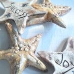 Each starfish carries a positive thought.