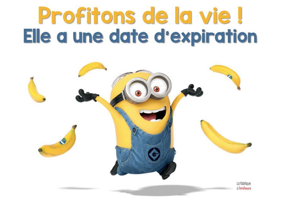 Vendredi bananes party une petite citation des minions pour nous mettre en joie belle - Les minions bonne annee ...
