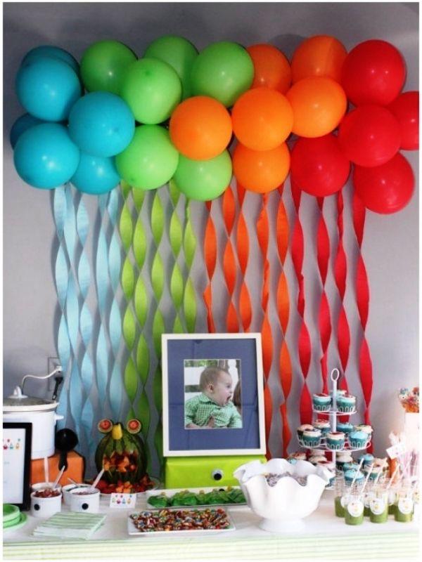 Идеи для украшения детского дня рождения своими руками