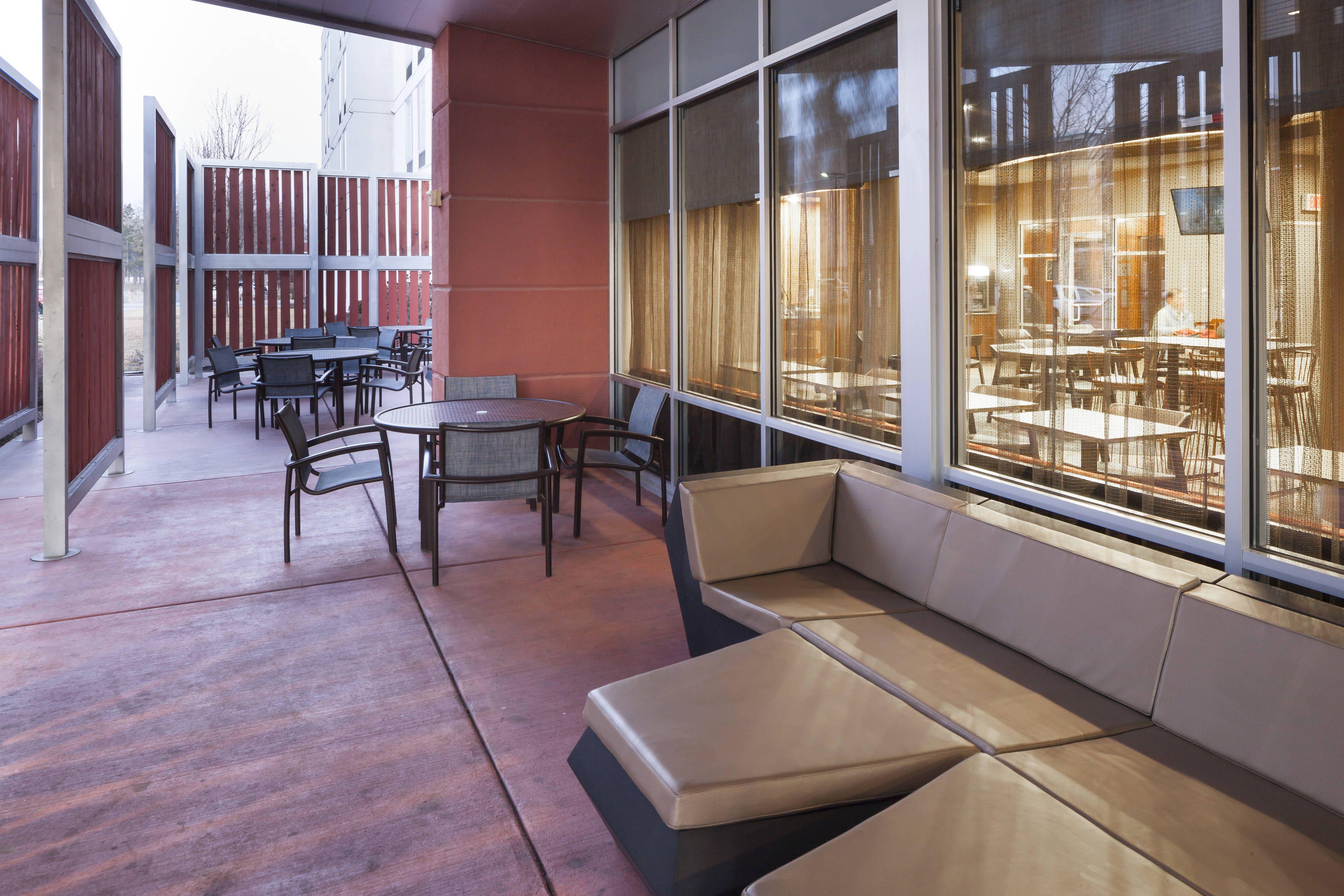 Springhill suites salt lake city airport outdoor patio comfort