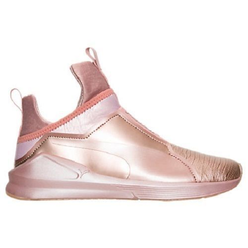 e24937f85393e0 Puma Women S Fierce Metallic Collection Shoes Sneakers Rose Gold Kylie  Jenner