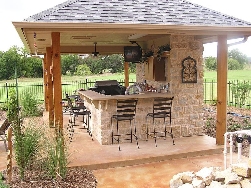Outdoor Kitchens Are One Of Our Specialties Take Full Advantage Of Our Nice Texas Weather And Make Your Outdoor Kitchen Decor Diy Patio Outdoor Kitchen Design