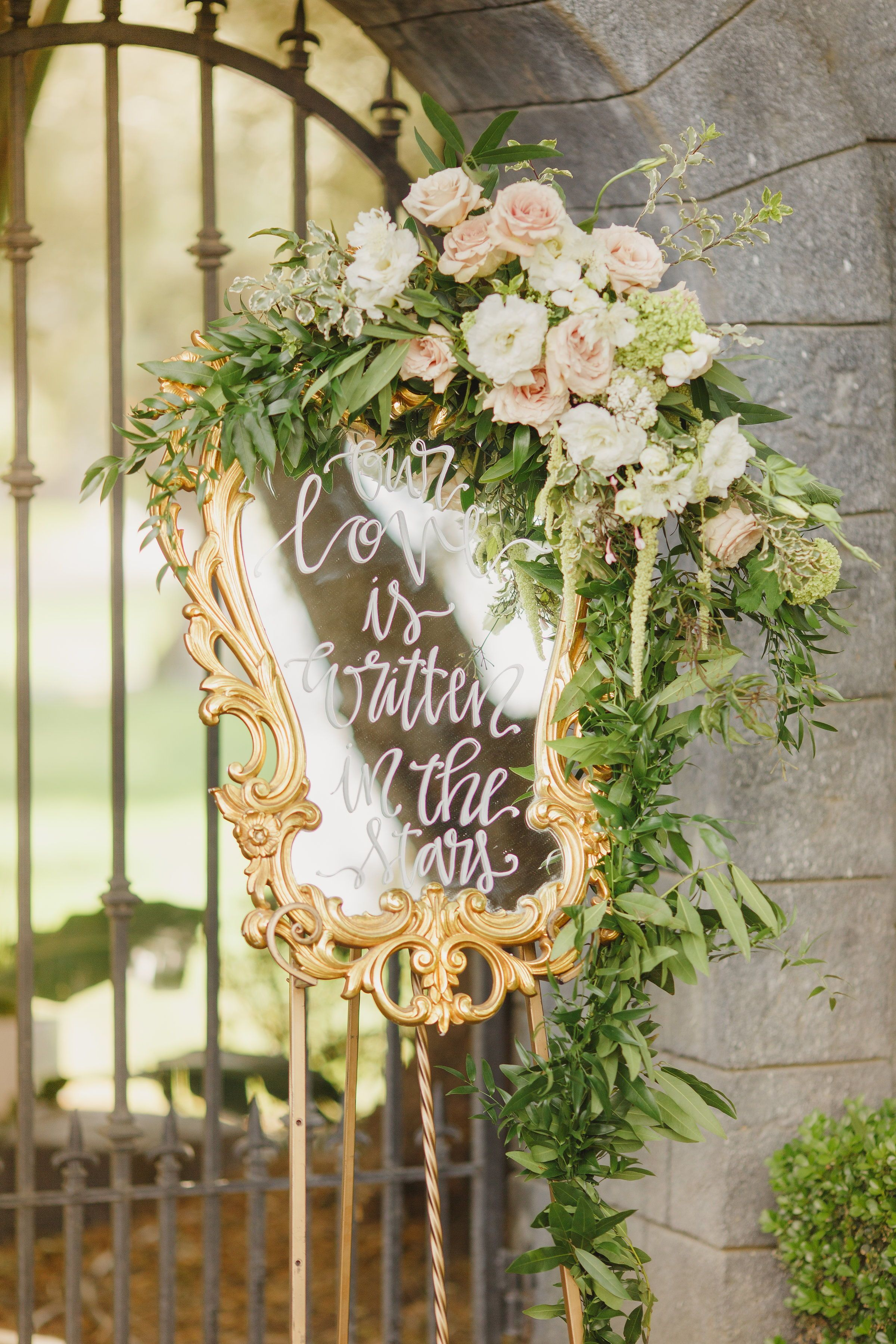 Fairytale wedding ideas. A quote written on a vintage ...