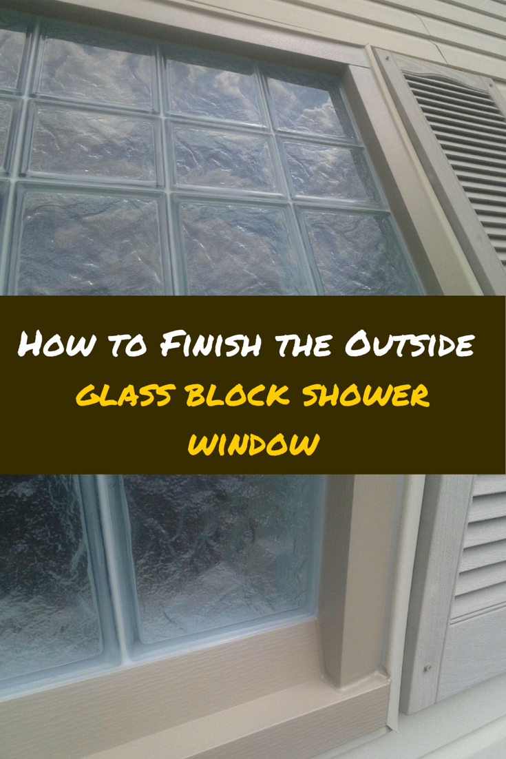 Attractive How To Install A Glass Block Shower Window