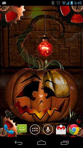 Halloween Steampunkin Lwp V1 0 1 Android Apk Download Halloween Phone Themes Halloween Pumpkins
