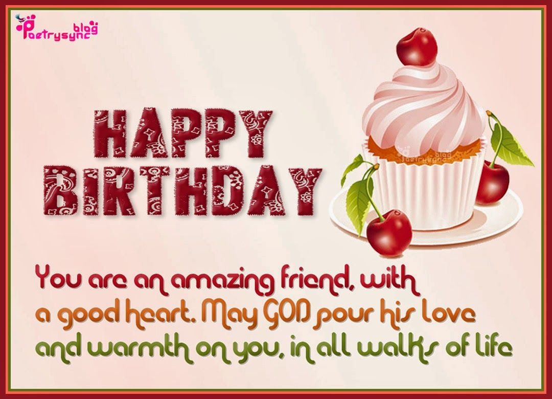 Happy Birthday Wishes Friend Message http://www ...