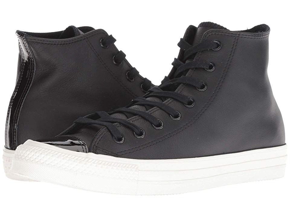 Converse Chuck Taylor All Star Leather Hi (BlackBlack