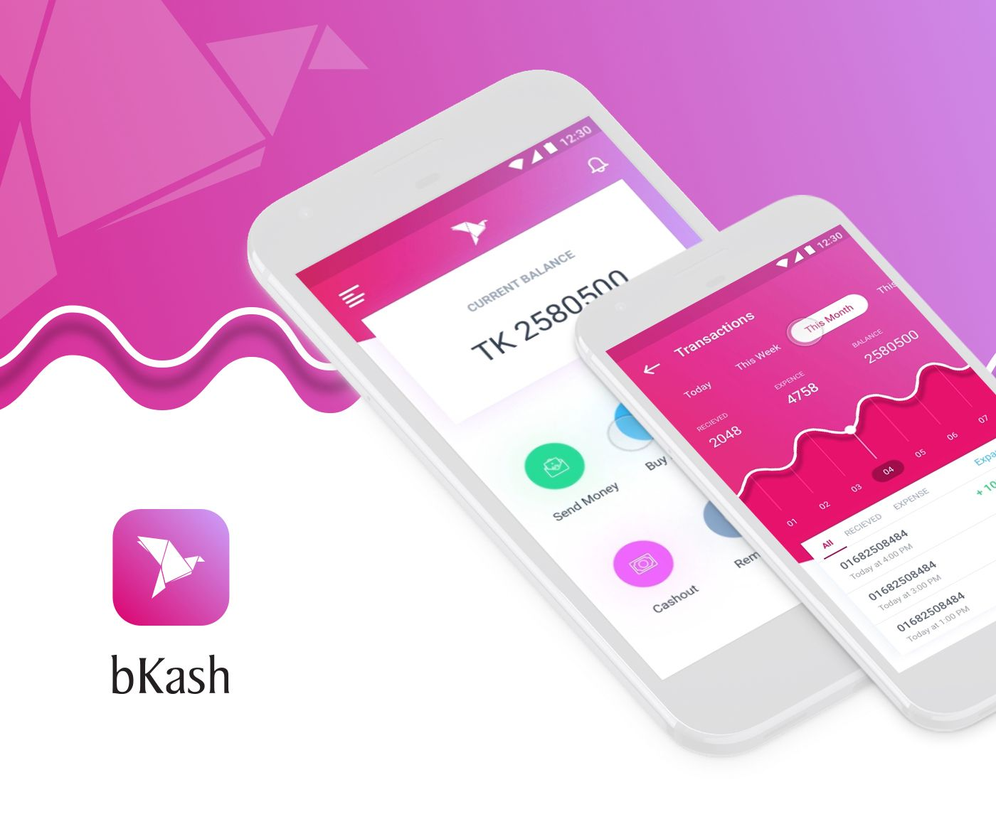 Check out my behance project mobile banking app https