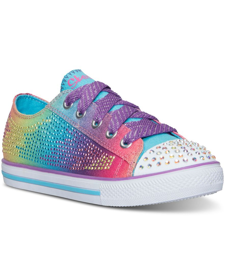 Skechers Toddler Girls  Twinkle Toes  Chit Chat - Electro Spark Casual  Sneakers from Finish 05755736733ec