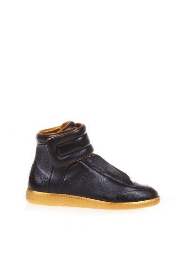 97a76f1e009 MAISON MARTIN MARGIELA Maison Margiela Future Leather High-top Sneakers.   maisonmartinmargiela  shoes