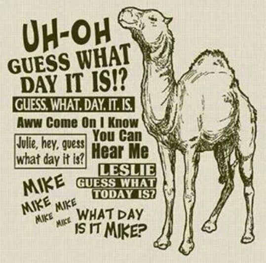 UH OH Guess What Day It Is!? Guess. What. Day.