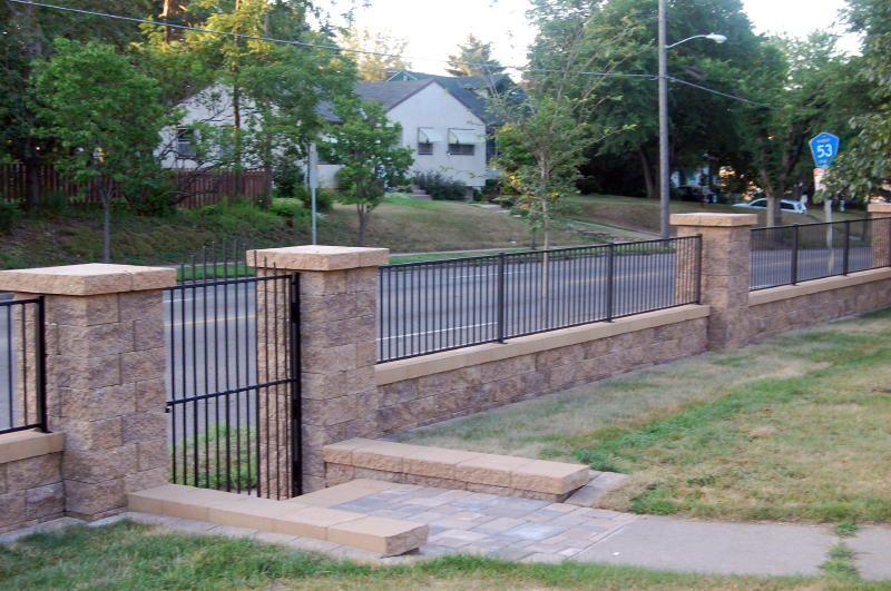 Free Standing Walls Amp Columns Versa Lok Standard Color