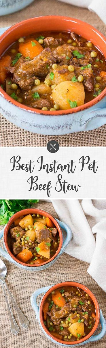 Make Some Delicious Instant Pot Beef Stew In The Fraction Of The Time This In 2020 Beef Stew Pressure Cooker Recipes Pressure Cooker Beef Stew Pressure Cooker Recipes