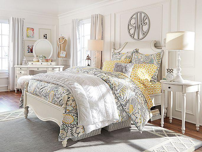 Pb Teen Girl Bedding: I Love The PBteen Sophie Paisley Bedroom On Pbteen.com