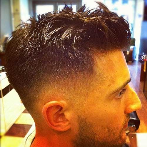 Trendy Mens Short Back And Sides Haircut Men S Styles Hair Cuts