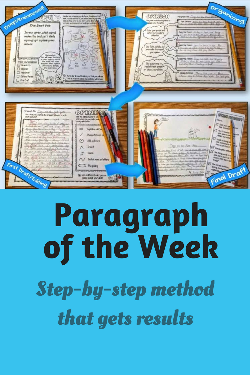 the best way to get your students to write great paragraphs writing good paragraphs is an essential skill and one that takes time and effort to