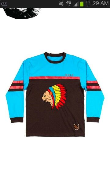 2ebc0fa174613d Golf Wang Native Cat Jersey Shirt by Odd Future