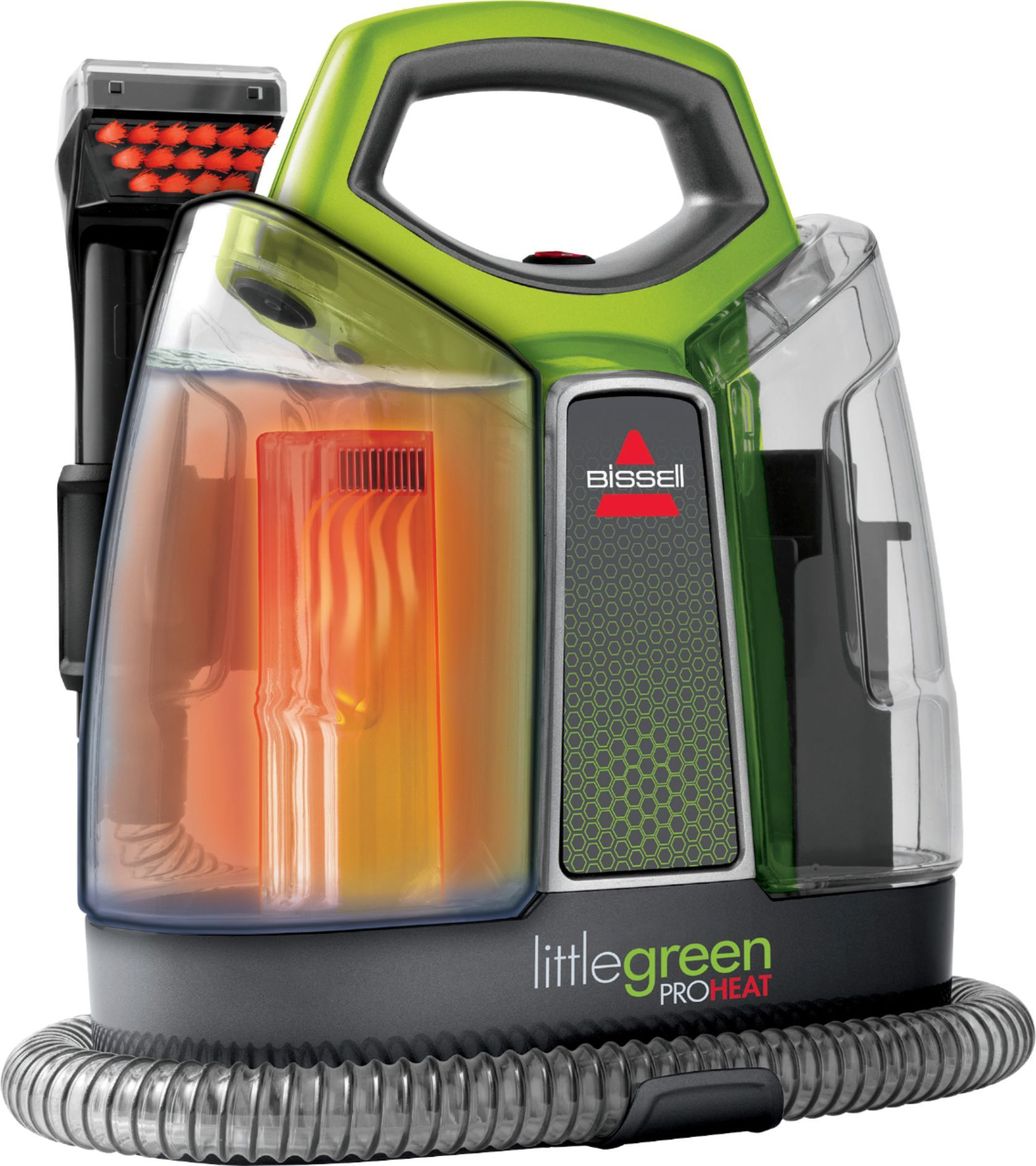 Bissell little green proheat corded handheld deep cleaner