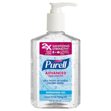 Purell Advanced Hand Sanitizer Pump Original Hand Sanitizer