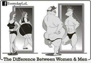 The difference between man and woman