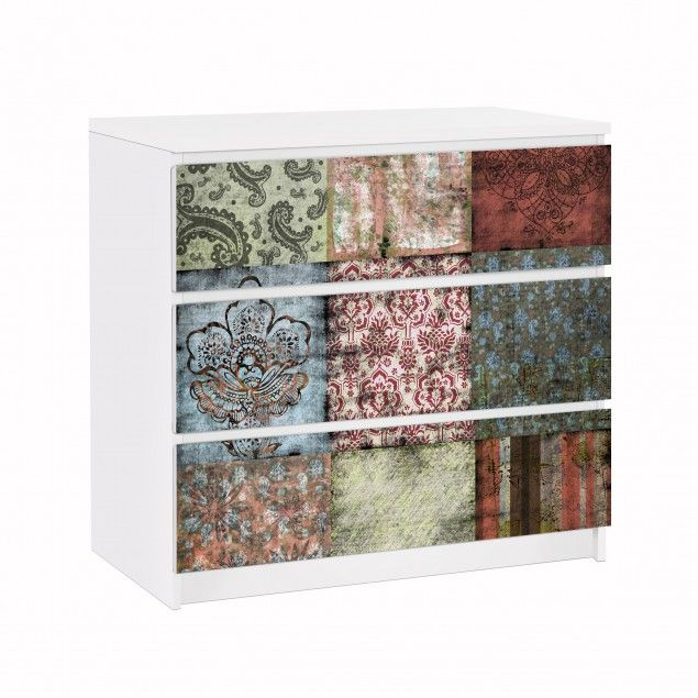 Ikea Klebefolie möbelfolie für ikea malm kommode klebefolie patterns living