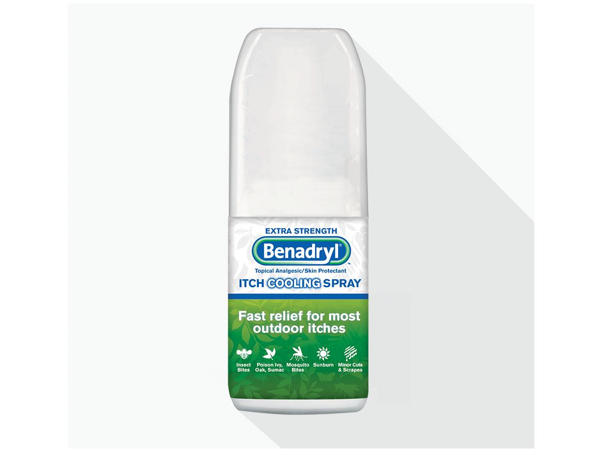 Benadryl Itch Relief Spray Extra Strength 2oz Ingredients And