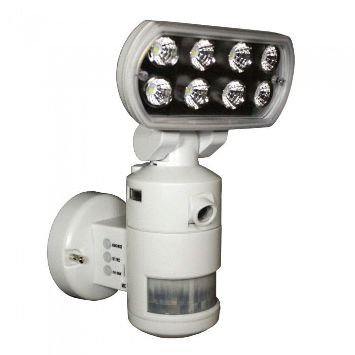 Flood Light Security Camera Magnificent Nightwatcher Robotic Security Motion Lightning Camera  Home Video Design Decoration