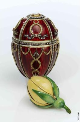 The imperial rosebud egg faberg 1895 a gift from tsar the imperial rosebud egg faberg 1895 a gift from tsar nicholas ii to negle Gallery