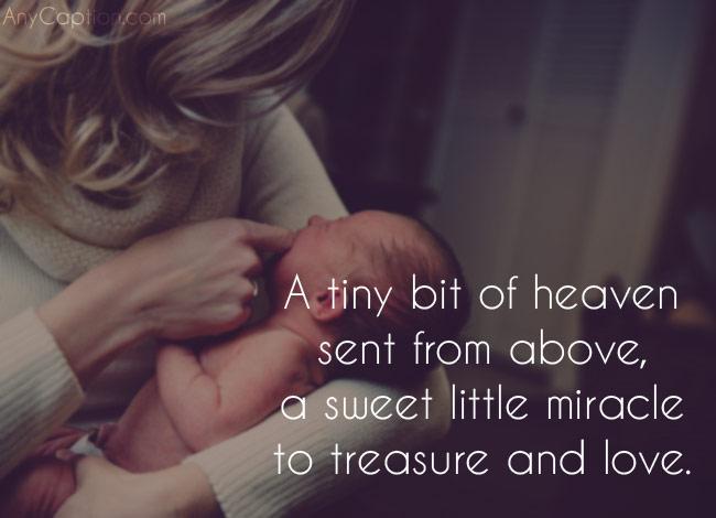 100 Caption For New Born Baby Photos Anycaption Newborn Quotes Baby Girl Quotes Born Baby Photos