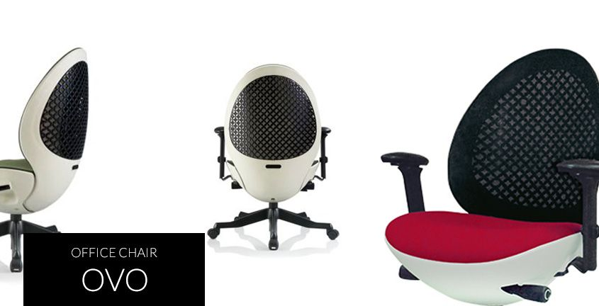 Ovo Highpoint Office The Modernized Egg Chair For Your Office With Elastomeric Mesh Backrest For Better Air Circulation Synchronized Mechanism Side Tilting