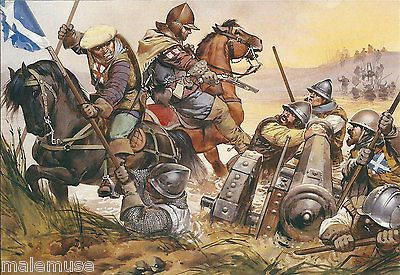 Battle Of Solway Moss Anglo-sc...