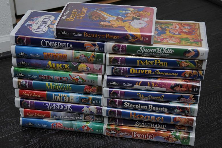 If You Have Any Of These Vhs S It May Be Worth Over 10 000 Disney Vhs Tapes Old Disney Disney Tapes