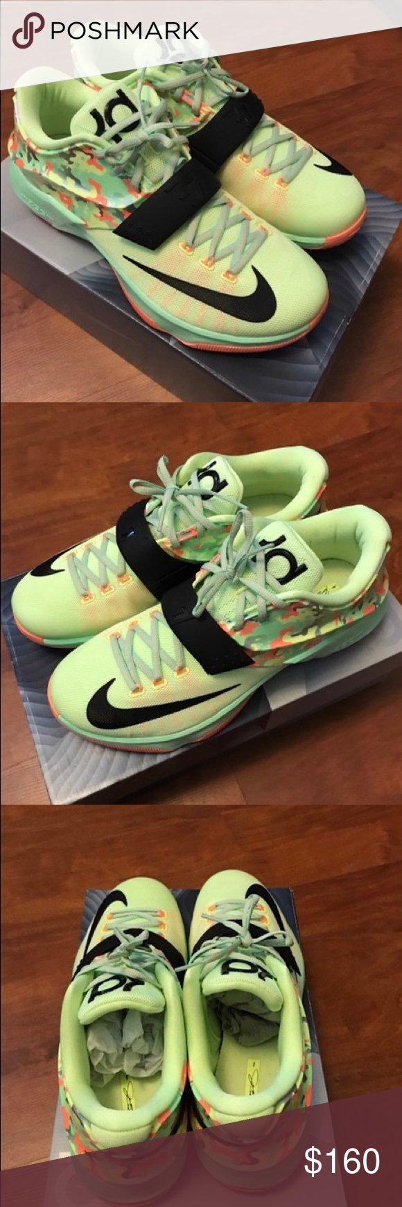 e20819c86593 Mans Nike KD 7 Easter Brand new Nike KD 7 Easter Nike Shoes Sneakers