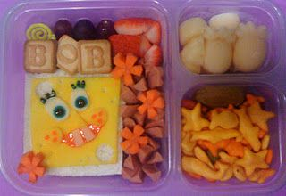 SpongeBob LunchPants Bento // spongebob squarepants lunch for kids