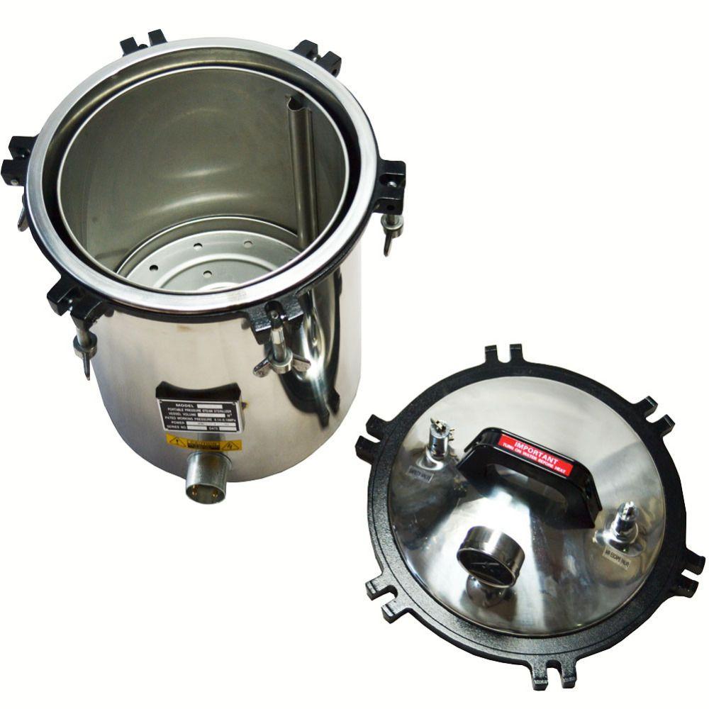 18l professional handheld steam autoclave sterilizer