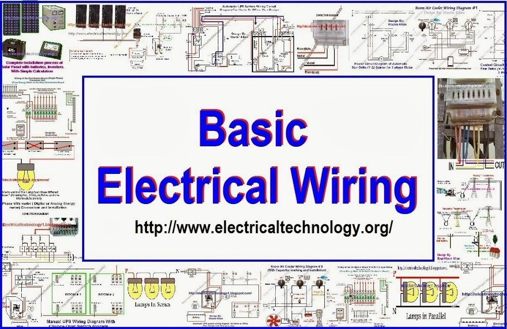 Simple Electrical Wiring Diagrams Images 12v 30a Relay Diagram Installation Tutorials Home How To Determine The Suitable Size Of Cable For Solved Examples British And Si System Basic