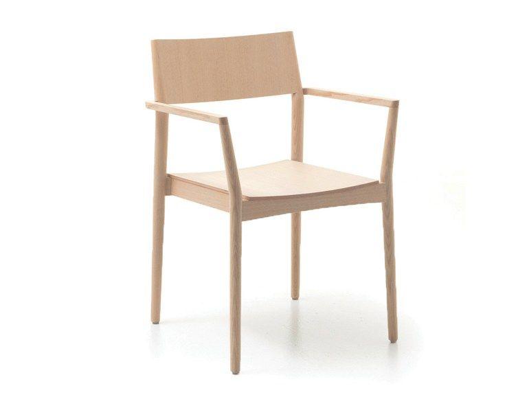 Designer Stühle Holz stuhl aus holz mit armlehnen elsa t by piaval design david ericsson