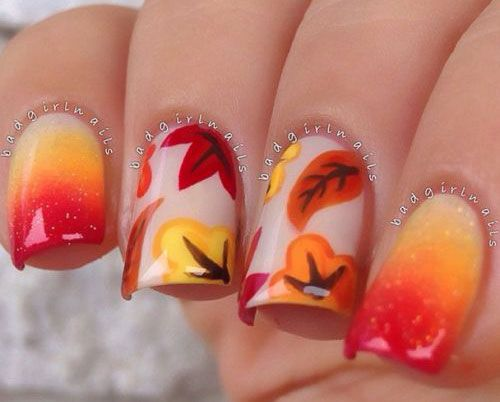Discover ideas about Acrylic Nails Autumn - Pin By S T On Nail Art Pinterest Autumn Nails