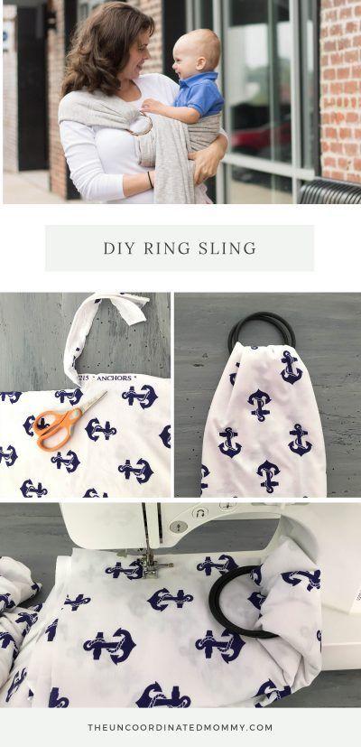 DIY Ring Sling Tutorial – Die unkoordinierte Mama