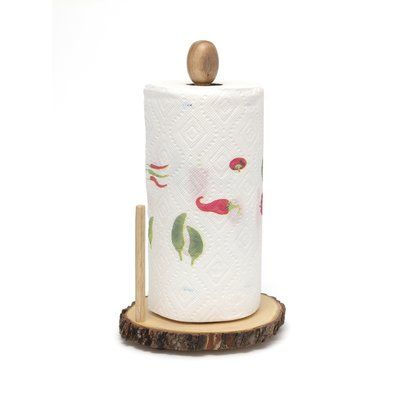 Loon Peak Watson Free Standing Paper Towel Holder | Wayfair #papertowelholders