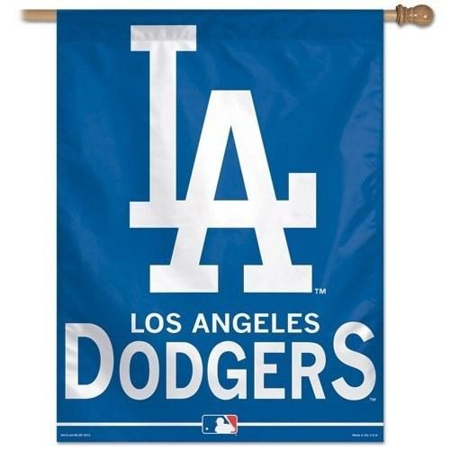 Los Angeles Dodgers Vertical Flag 27 X 37 Dodgers Los Angeles