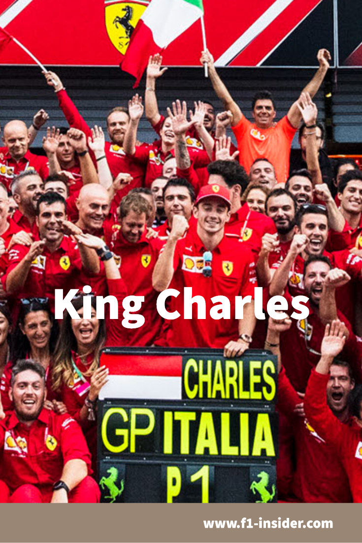 King Charles Is Here #newferrari King Charles. For the Tifosi, a new Ferrari legend was born on Sunday at the Italian Grand Prix in Monza: Charles Leclerc (21). The Monegasque is the new star in a red sky with the prancing horse.  #F1 #ItalianGP #essereFerrari #ScuderiaFerrari #Ferrari #charlesleclerc #leclerc #Charles16 #sebastianvettel #seb5 #sv5 #SF90 #newferrari King Charles Is Here #newferrari King Charles. For the Tifosi, a new Ferrari legend was born on Sunday at the Italian Grand Prix in #newferrari