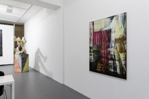 Dicke, John Kleckner, Olivier Masmonteil, Richard Stipl, Johan Tahon, Alexander Tinei at Galerie Dukan Paris, France, Installation View, 2013