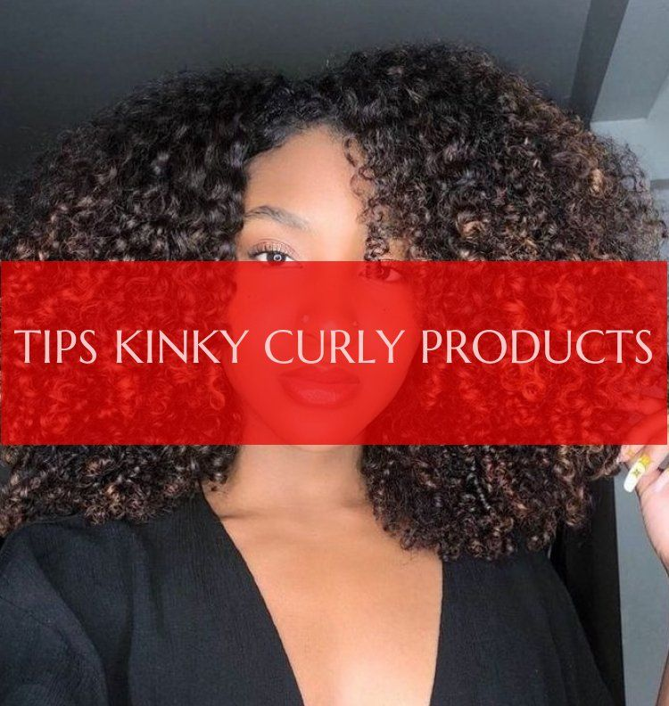 Tips Kinky Curly Products Tipps Verworrene Lockige Produkte